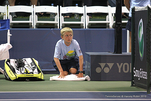 Ball Boy Mercury Insurance Open Tennis