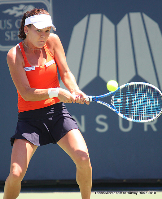 Agnieszka Radwanska Mercury Insurance Open Tennis