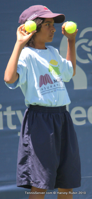 Ball Girl Mercury Insurance Open Tennis