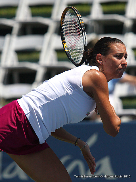 Flavia Pennetta Mercury Insurance Open Tennis