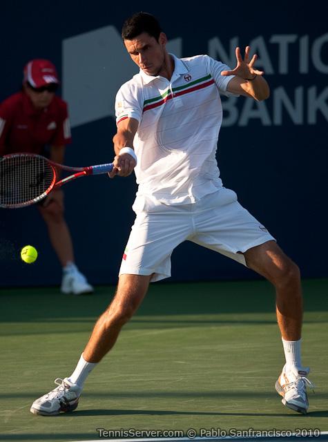 Victor Hanescu Rogers Cup Toronto Tennis