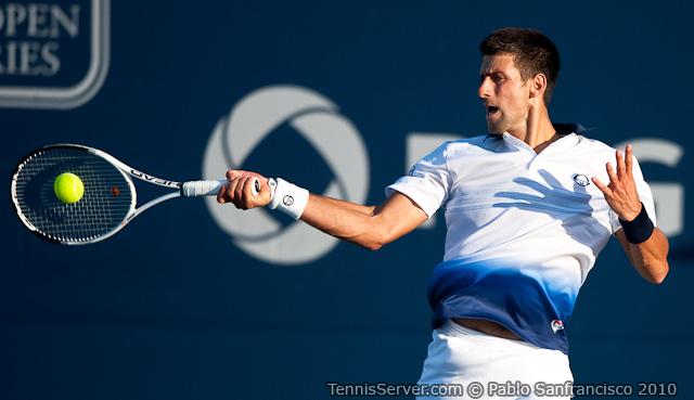 Novak Djokovic Rogers Cup Toronto Tennis