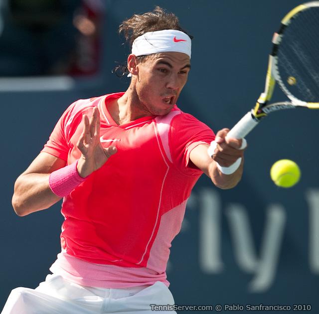 Rafael Nadal Rogers Cup Toronto Tennis