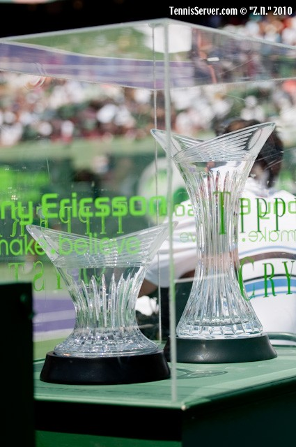 Sony Ericsson Open Trophies Tennis