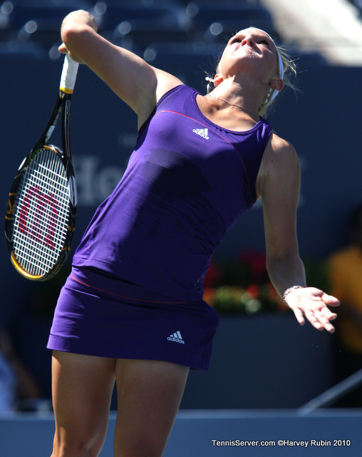 Melanie Oudin US Open 2010 Tennis