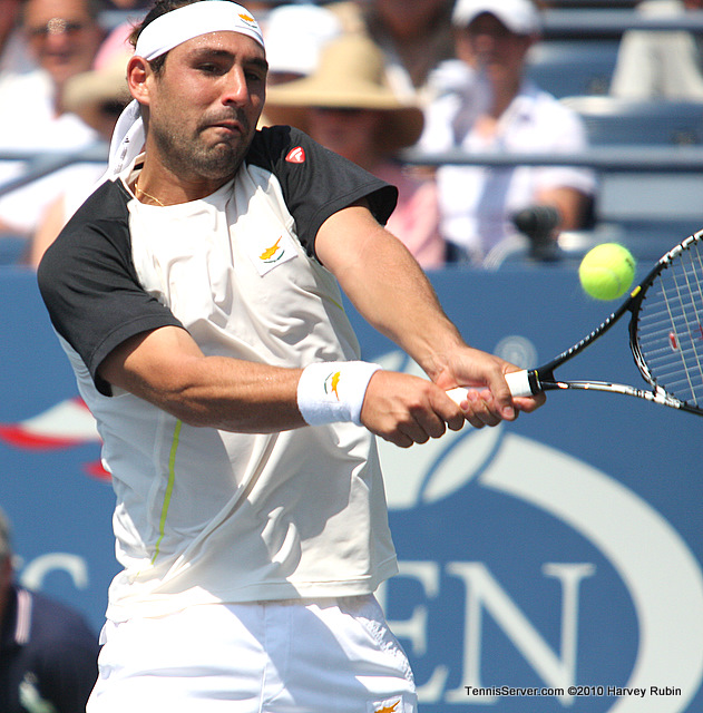 Marcos Baghdatis US Open 2010 Tennis