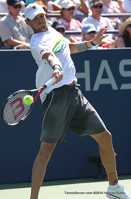 Mardy Fish US Open 2010 Tennis