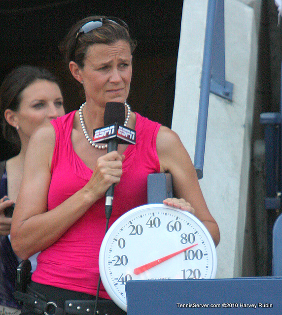 Pam Shriver US Open 2010 Tennis