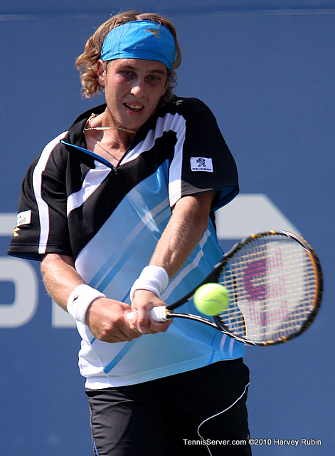 Lukas Lacko US Open 2010 Tennis