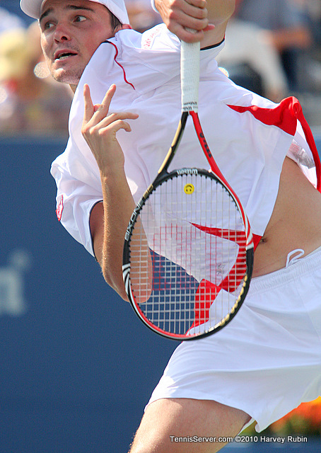 Andreas Beck US Open 2010 Tennis
