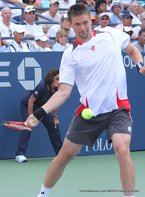 Robin Soderling US Open 2010 Tennis