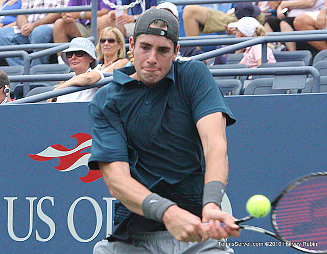 John Isner US Open 2010 Tennis