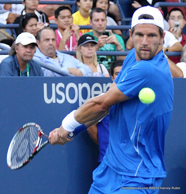 Melzer Ferrero Scoreboard US Open 2010 Tennis