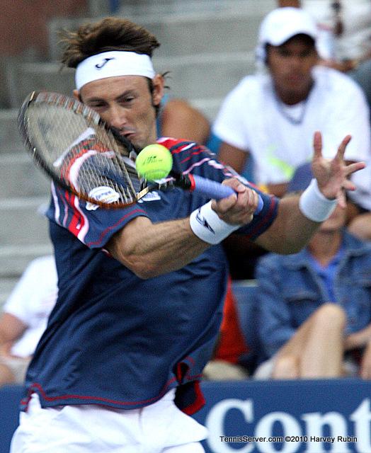 Juan Carlos Ferrero US Open 2010 Tennis