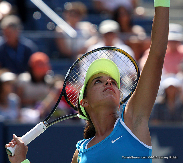 Beatrice Capra US Open 2010 Tennis