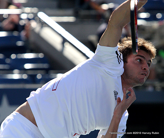 Gilles Simone US Open 2010 Tennis