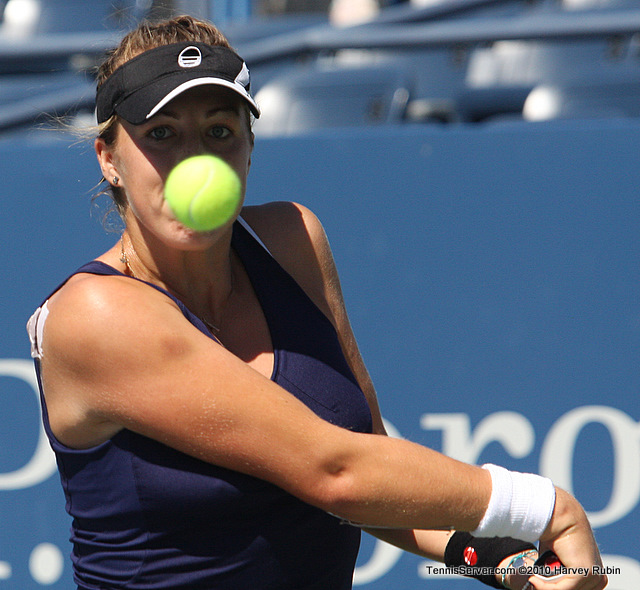 Anastasia Pavlyuchenkova US Open 2010 Tennis