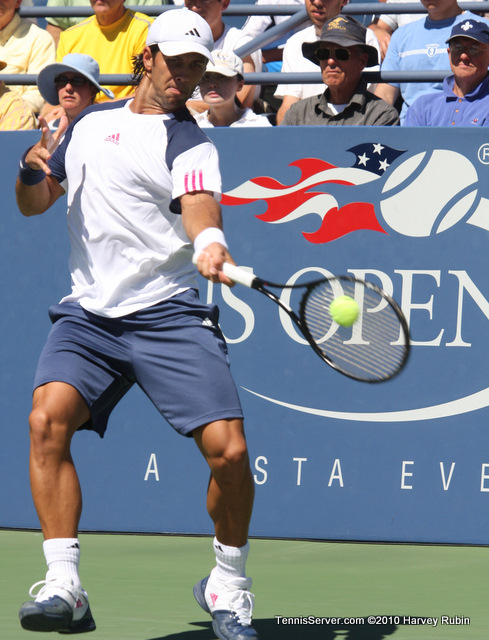 Fernando Verdasco US Open 2010 Tennis