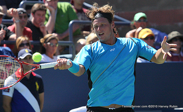 David Nalbandian US Open 2010 Tennis