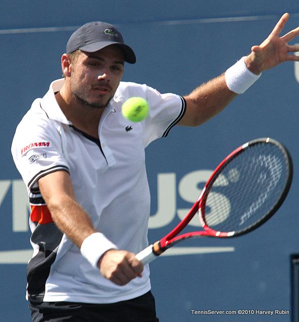 Stanislas Wawrinka US Open 2010 Tennis