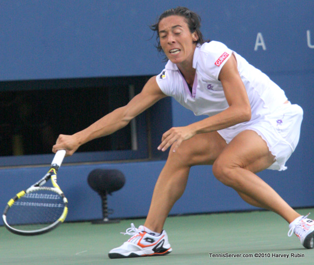 Francesca Schiavone US Open 2010 Tennis