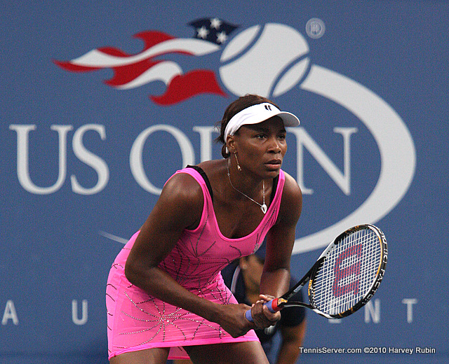 Venus Williams US Open 2010 Tennis