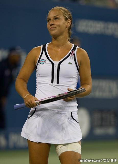 Dominika Cibulkova US Open 2010 Tennis
