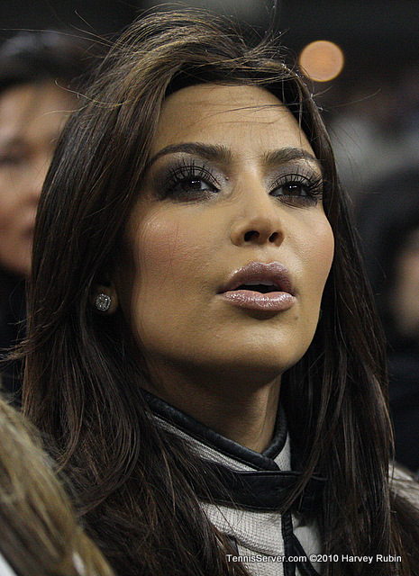 Kim Kardashian US Open 2010 Tennis