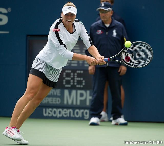 Vera Zvonareva US Open 2010 Tennis