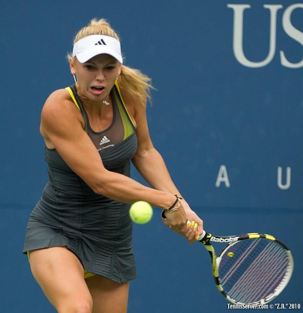 Caroline Wozniacki US Open 2010 Tennis