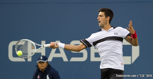 Novak Djokovic US Open 2010 Tennis