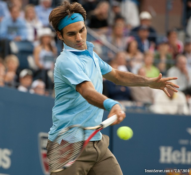 Roger Federer US Open 2010 Tennis