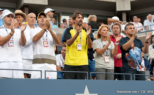 Team Djokovic US Open 2010 Tennis