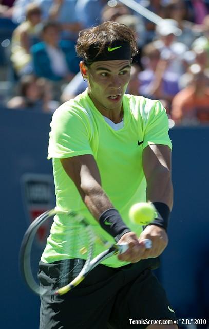 Rafael Nadal US Open 2010 Tennis