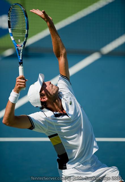 Julien Benneteau W&SFG Masters Cincinnati Tennis