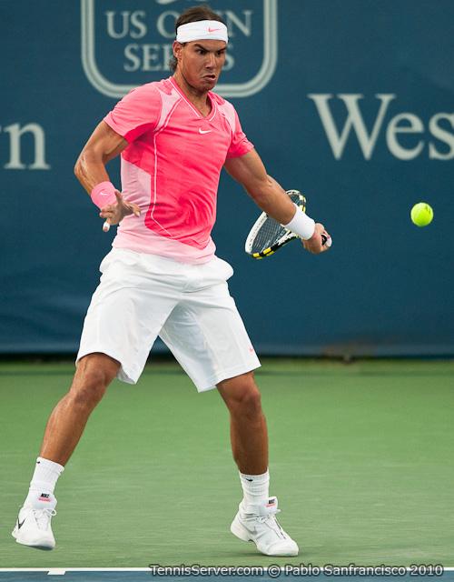 Rafael Nadal W&SFG Masters Cincinnati Tennis