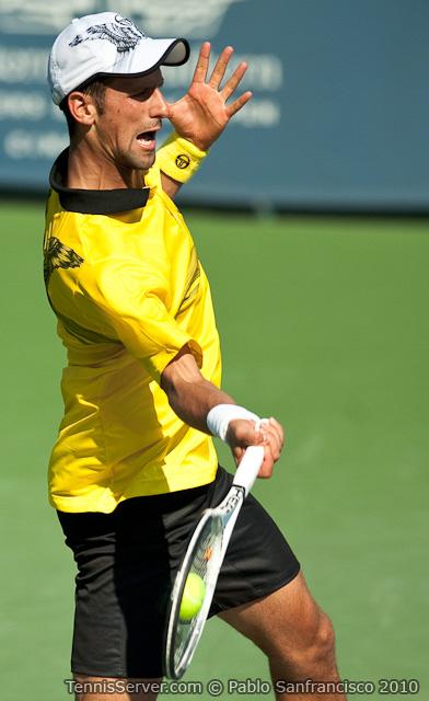 Novak Djokovic W&SFG Masters Cincinnati Tennis