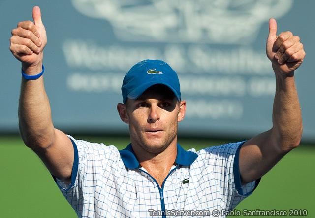 Andy Roddick W&SFG Masters Cincinnati Tennis