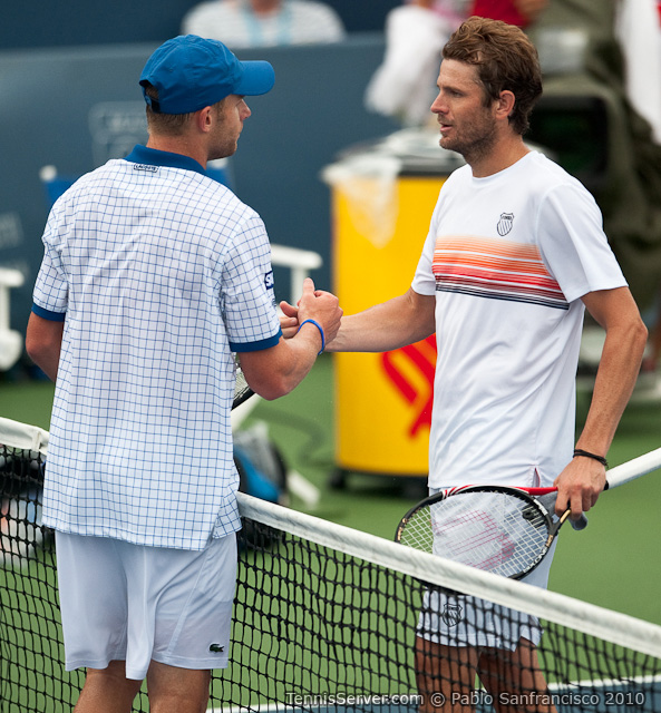 Andy Roddick Mardy Fish W&SFG Masters Cincinnati Tennis