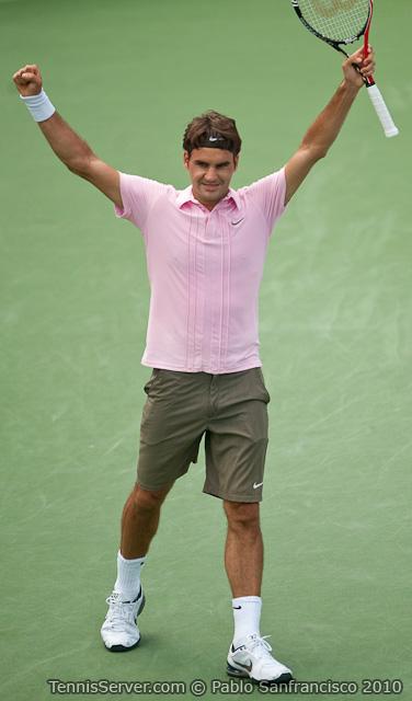 Roger Federer W&SFG Masters Cincinnati Tennis
