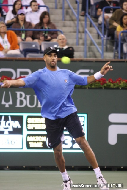 James Blake 2011 BNP Paribas Open Tennis
