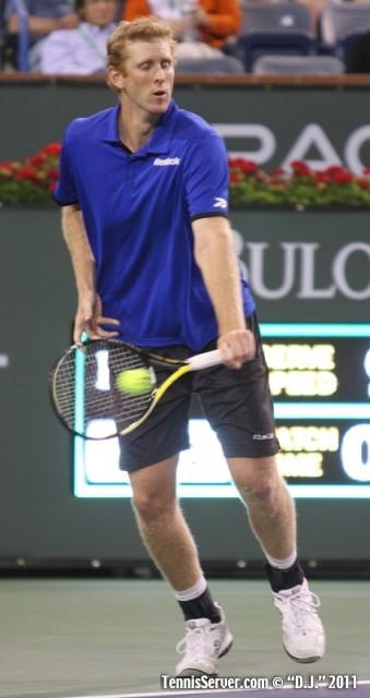Chris Guccione 2011 BNP Paribas Open Tennis