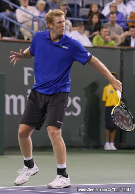 Chris Guccione 2011 BNP Paribas Open Tennis