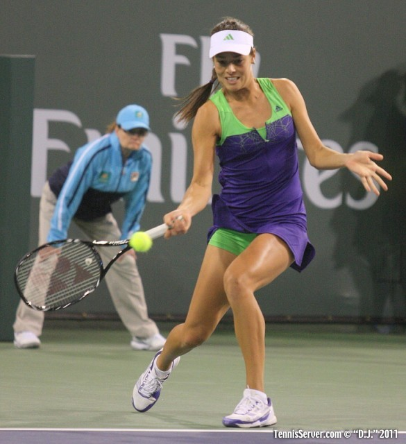 Ana Ivanovic 2011 BNP Paribas Open Tennis