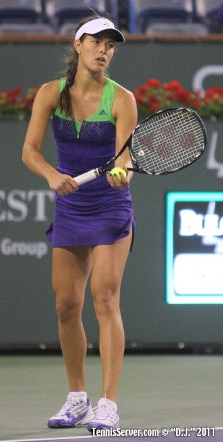 Ana Ivanovic 2011 BNP Paribas Open Tennis