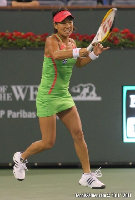 Kimiko Date-Krumm 2011 BNP Paribas Open Tennis