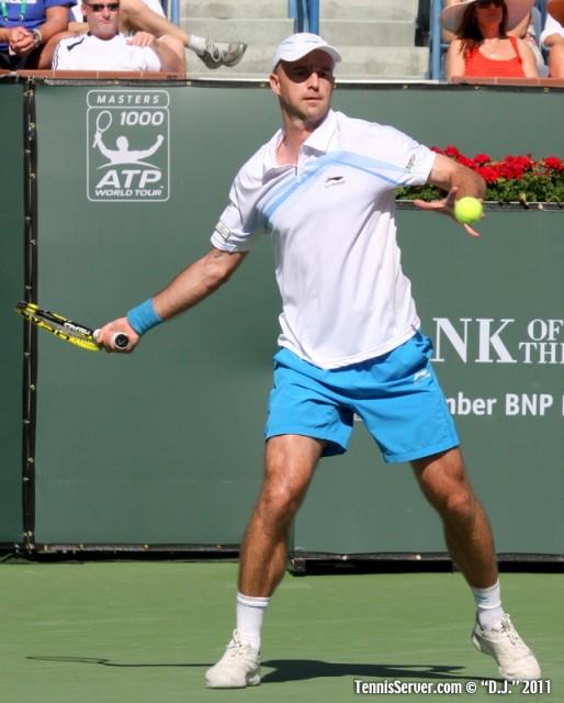 Ivan Ljubicic 2011 BNP Paribas Open Tennis