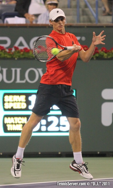 Rik de Voest 2011 BNP Paribas Open Tennis