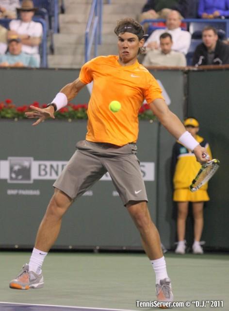 Rafael Nadal 2011 BNP Paribas Open Tennis