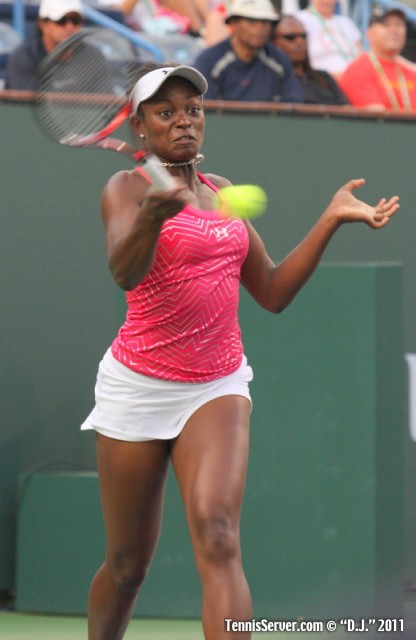 Sloane Stephens 2011 BNP Paribas Open Tennis